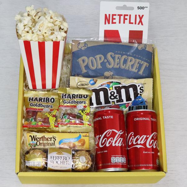 Netflix Movie Night Gift Box
